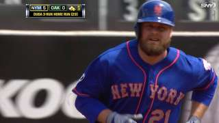 Mets ride Duda's bat, Wheeler's arm to win vs. A's