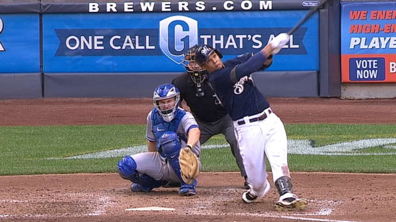 Streak ends as Nelson, Brewers can't contain Jays