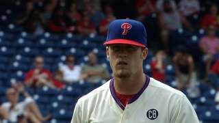 Slider making talented Giles stand out in bullpen