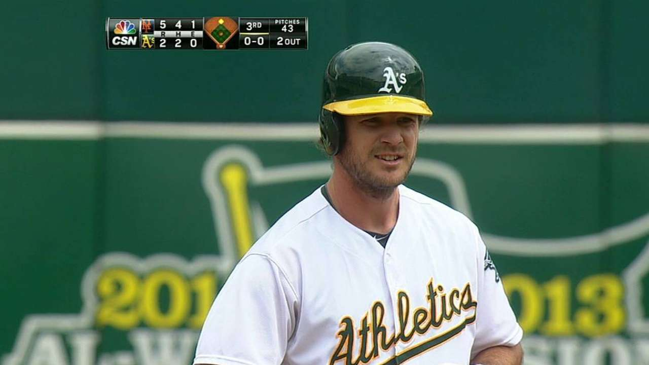 Jaso feeling better, takes batting practice