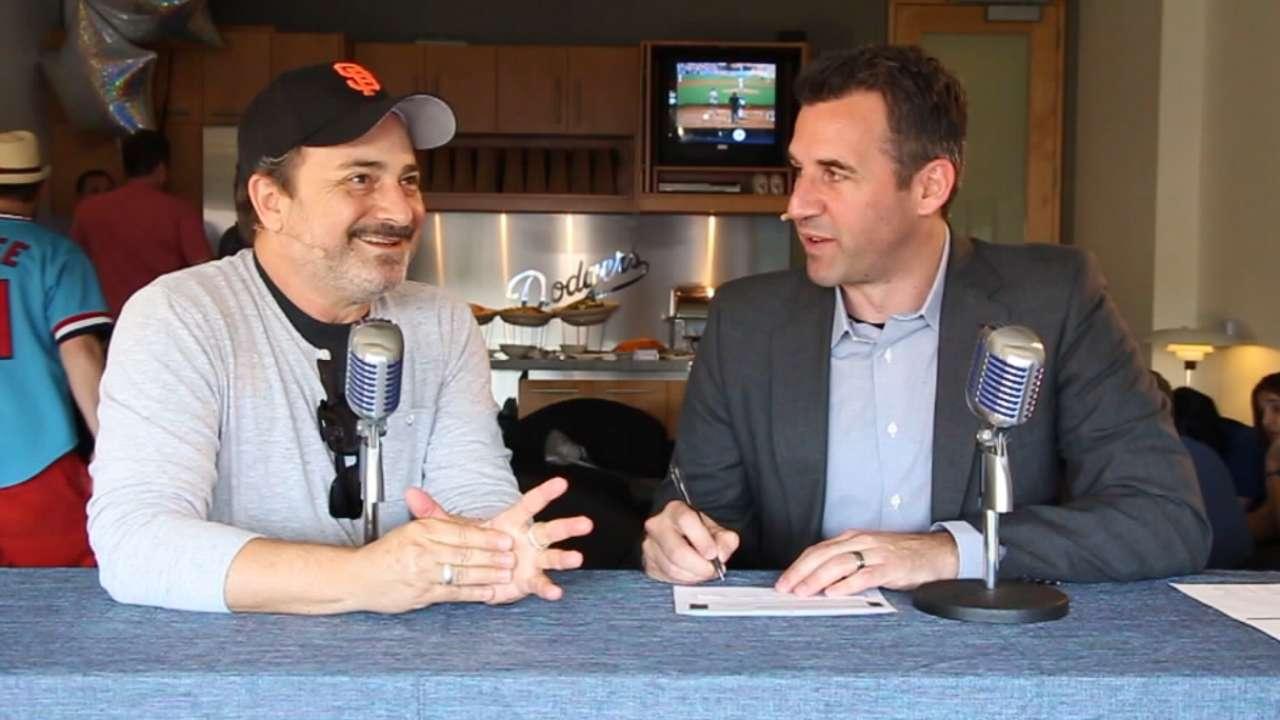 'EWC' vet Pollak returns to the studio to talk Giants