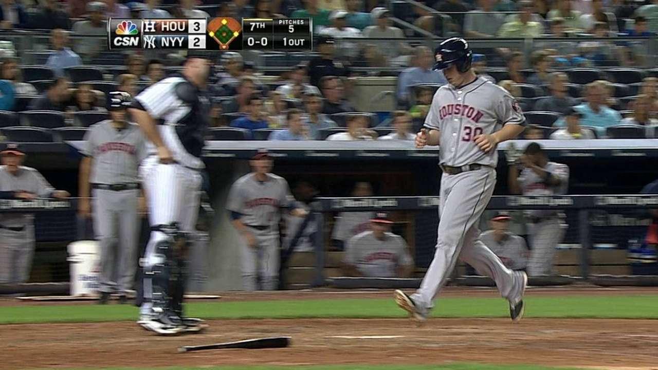 Feldman y Astros agravaron penurias de Yankees