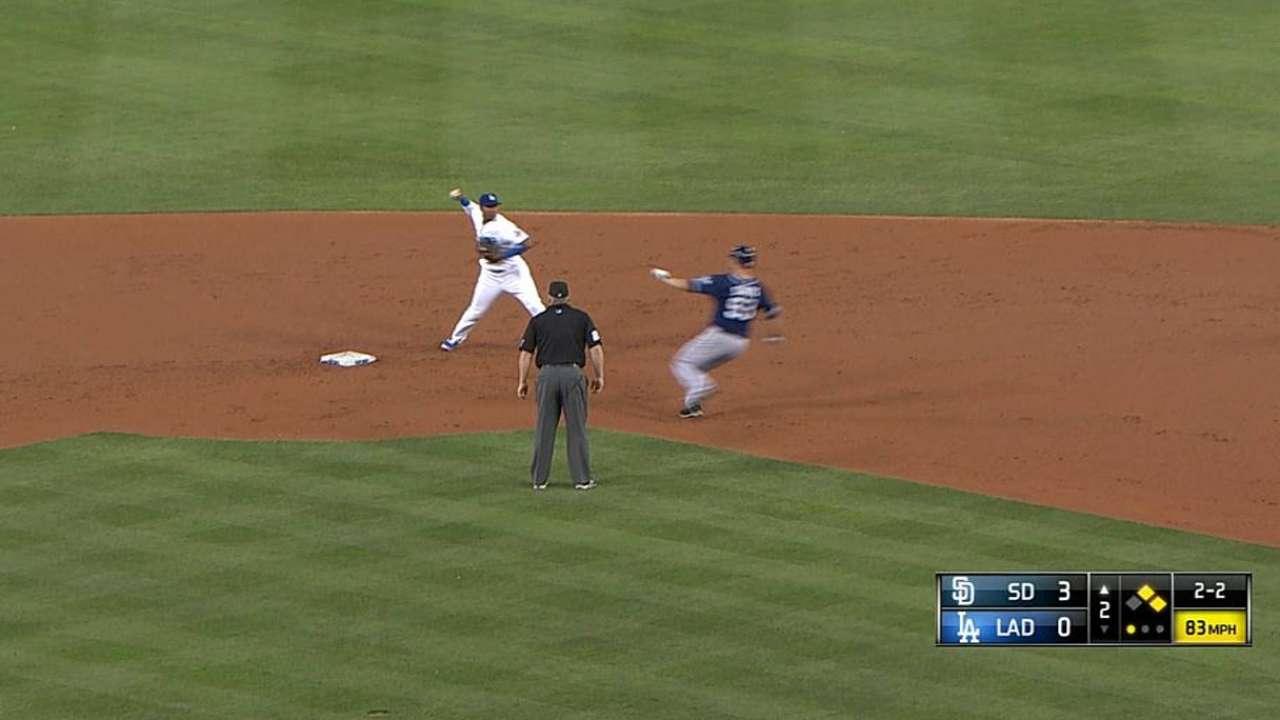Dodgers no tuvieron respuesta contra pitcheo de S.D.