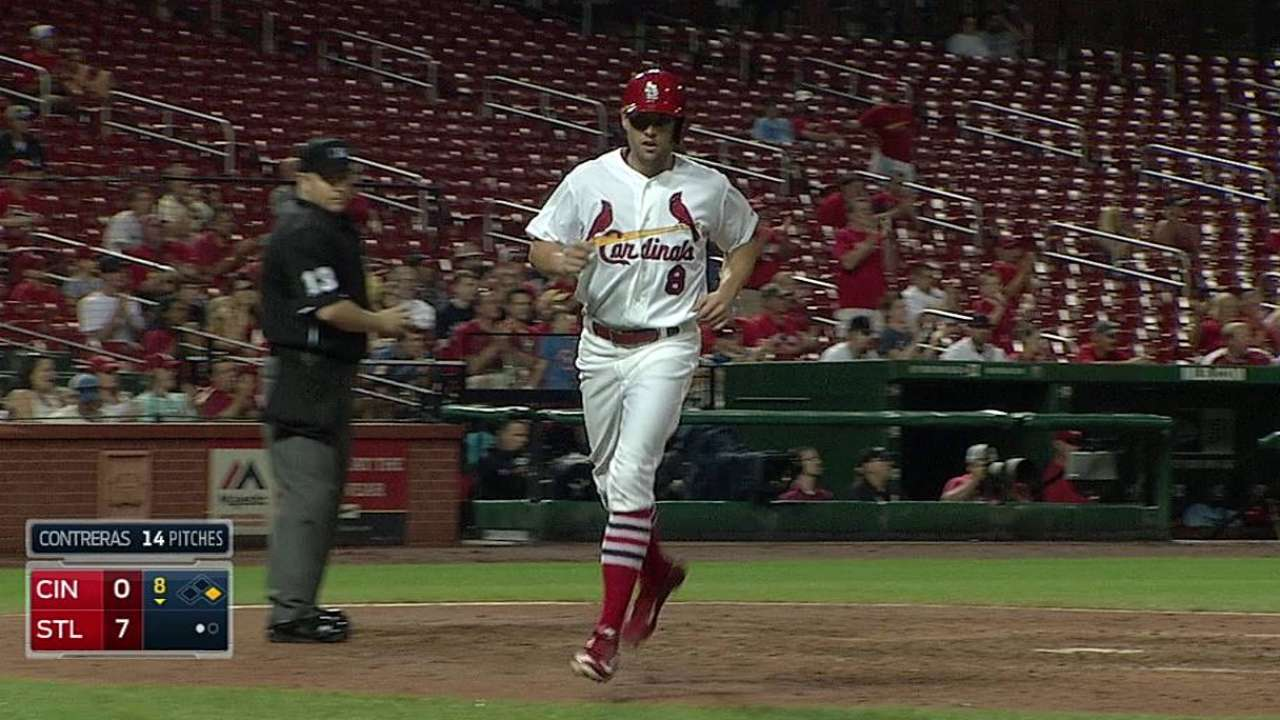 Jay emerging as force in Cards' lineup