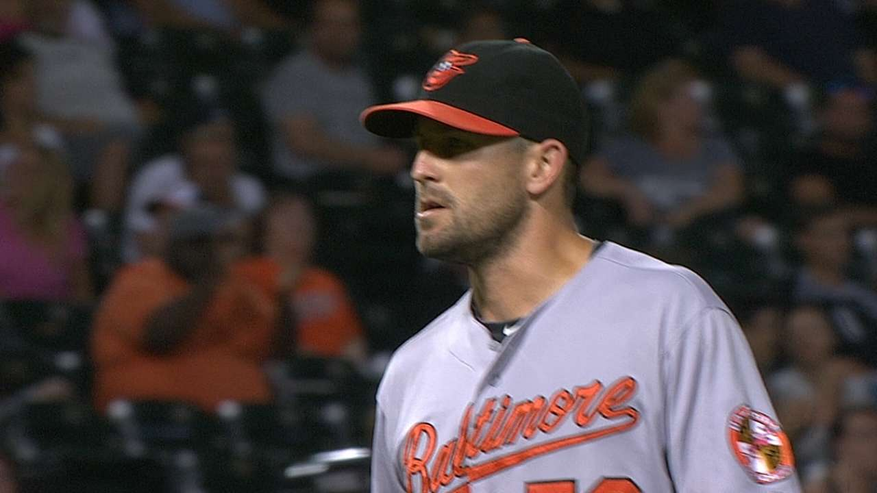 O'Day says he's ready to pitch again