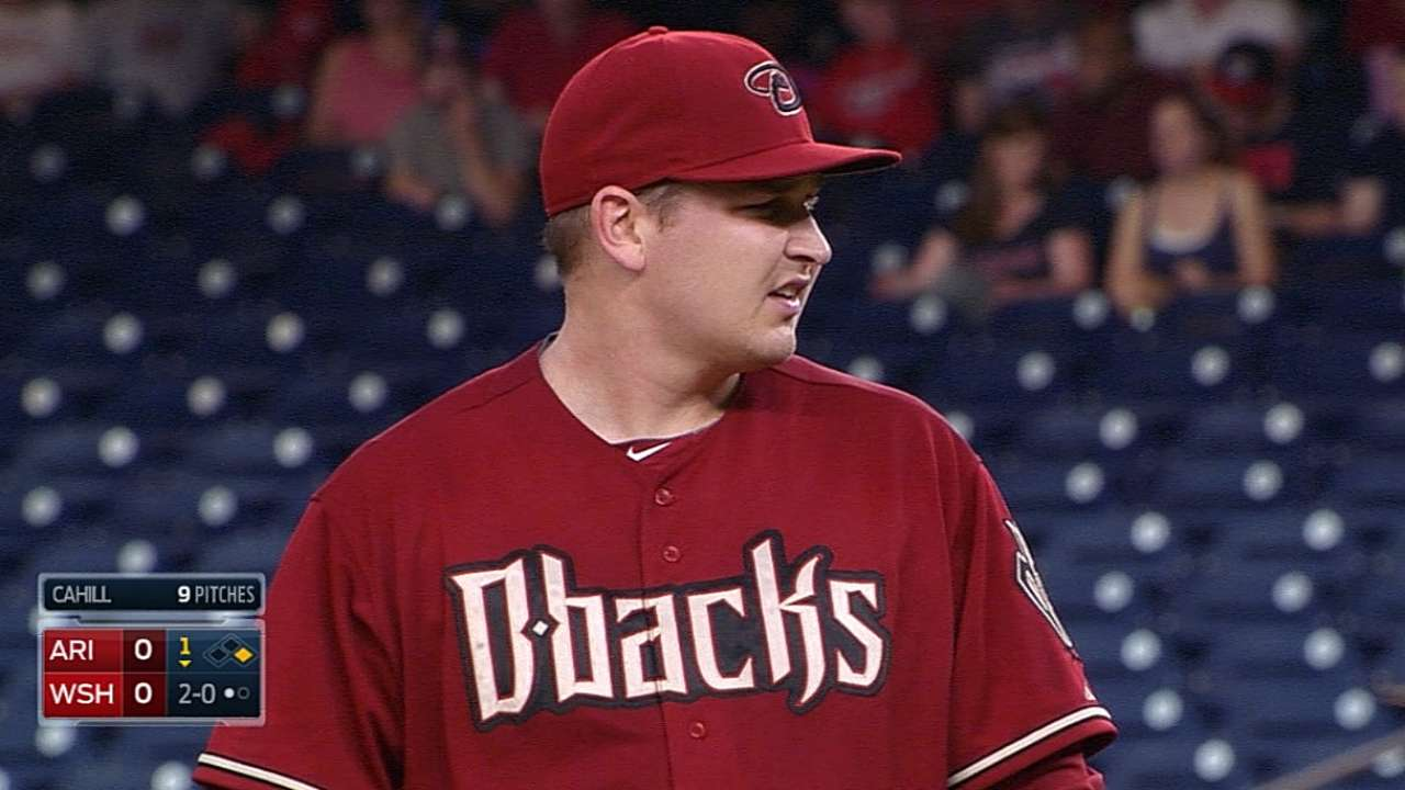 D-backs battle to tie, but Nats walk off winners