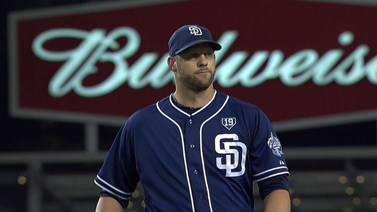 Stults will try to complete sweep vs. Dodgers