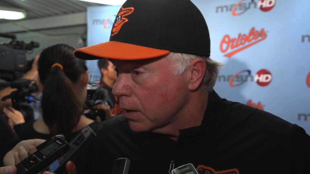 Surging Orioles set for challenges of stretch run