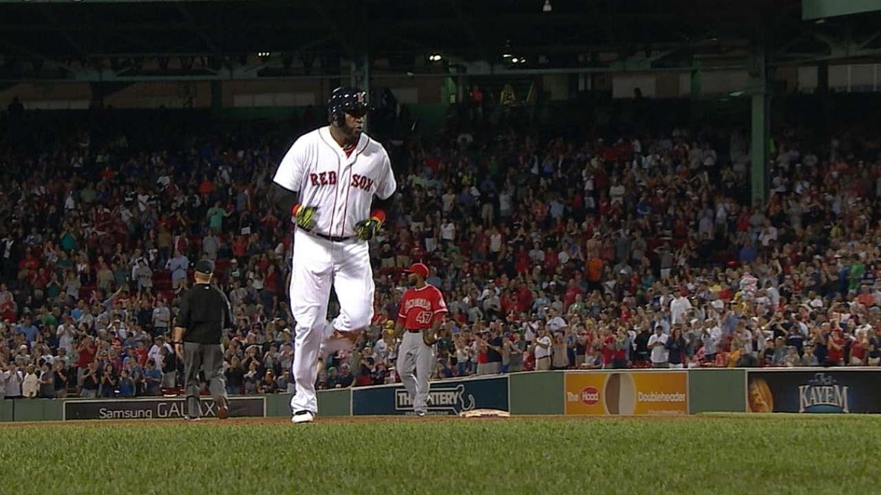 Ortiz iguala a Williams en otra categoría de Boston