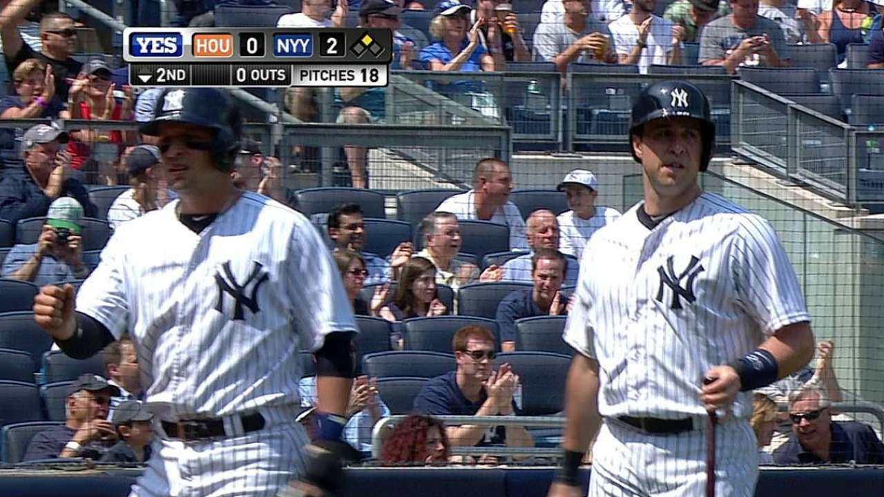 Fire starter? Yanks hold casual team meeting