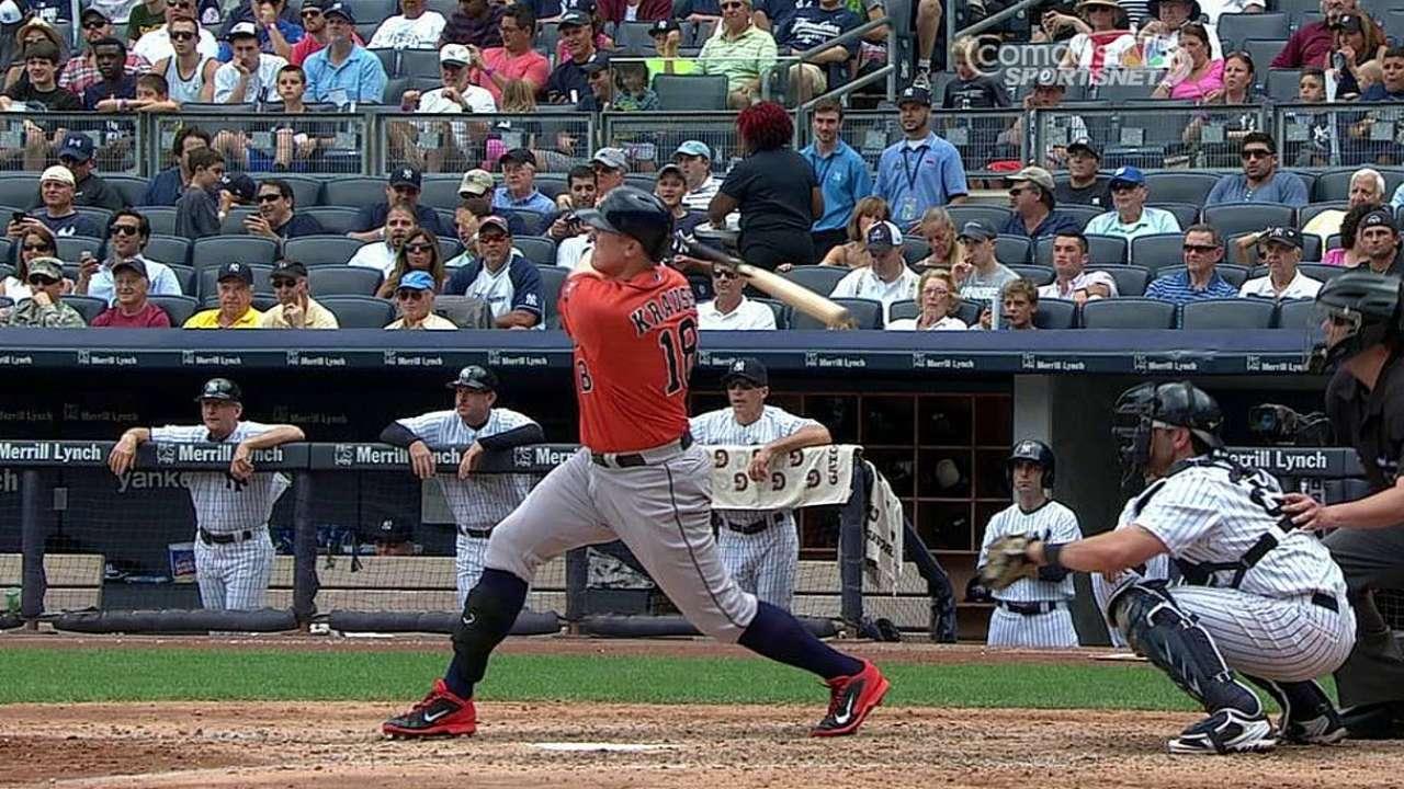 Astros silenciados por McCarthy y caen vs. Yankees