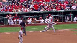 Overturned call at first gives D-backs inning-ending DP
