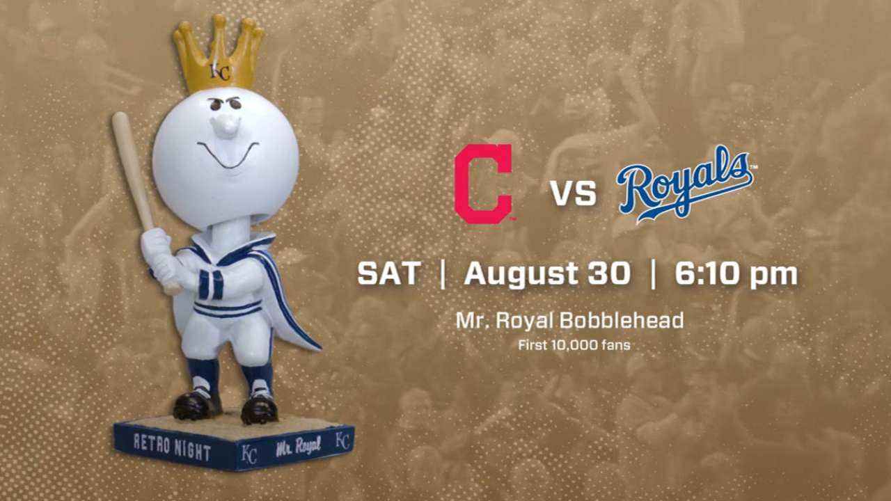 Royals, Indians set for clash on Retro Night