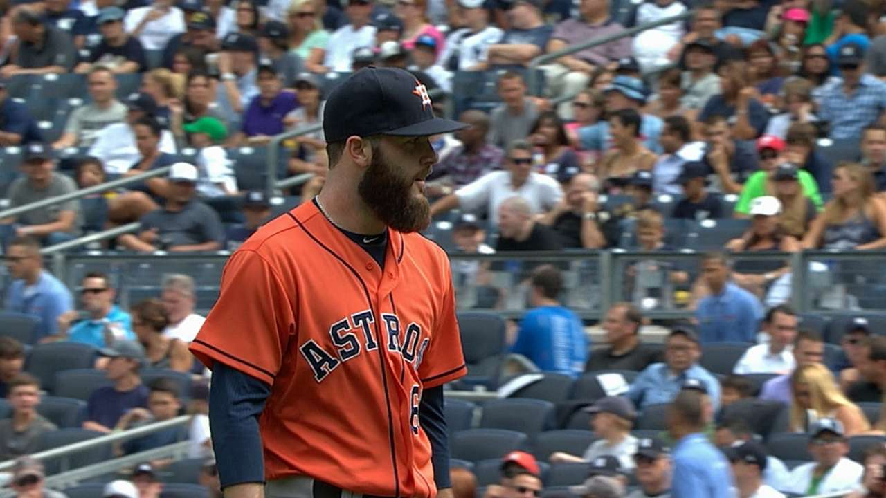 Keuchel goes distance, but Astros fall in shutout