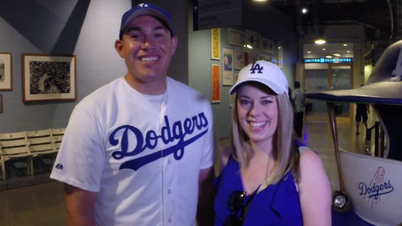 Engaged Dodgers fans enjoy 'Bucks on the Pond'