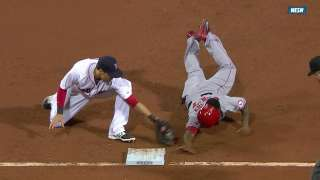 Call overturned after Farrell challenges