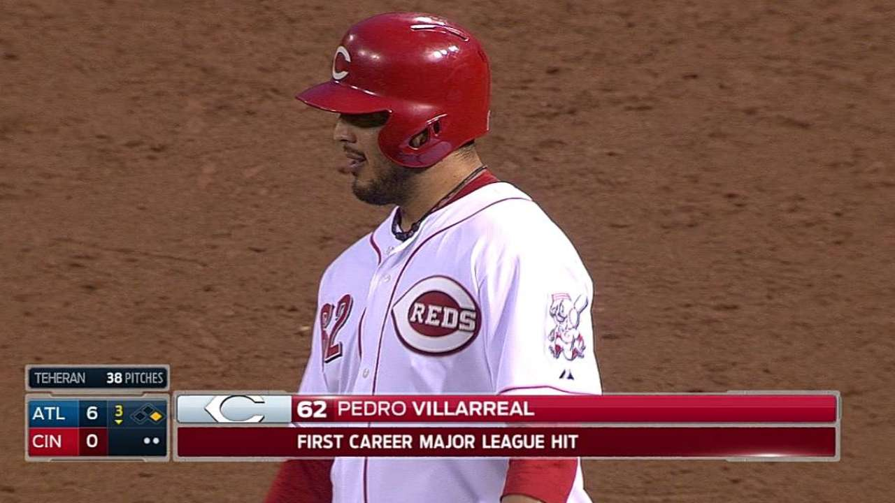 After disappointment, Villarreal works way back to bigs