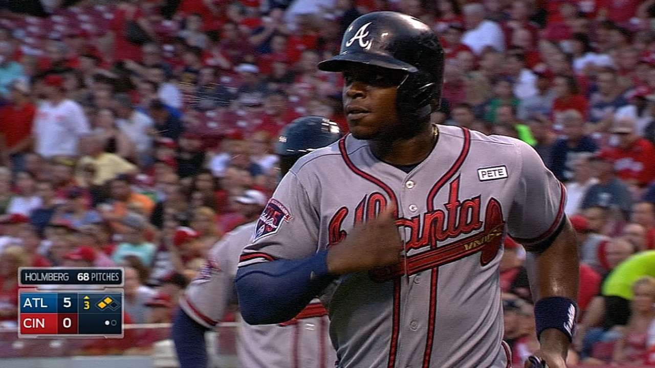 Rout keeps streaking Braves on pace in race