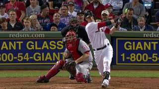 Red Sox avoid being no-hit, but skid hits five