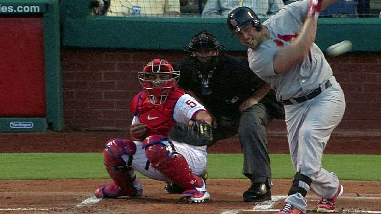 Waino can't right ship in Philly after early lead