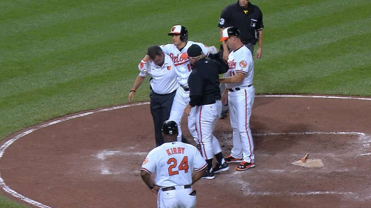 Machado needs surgery, likely done for season