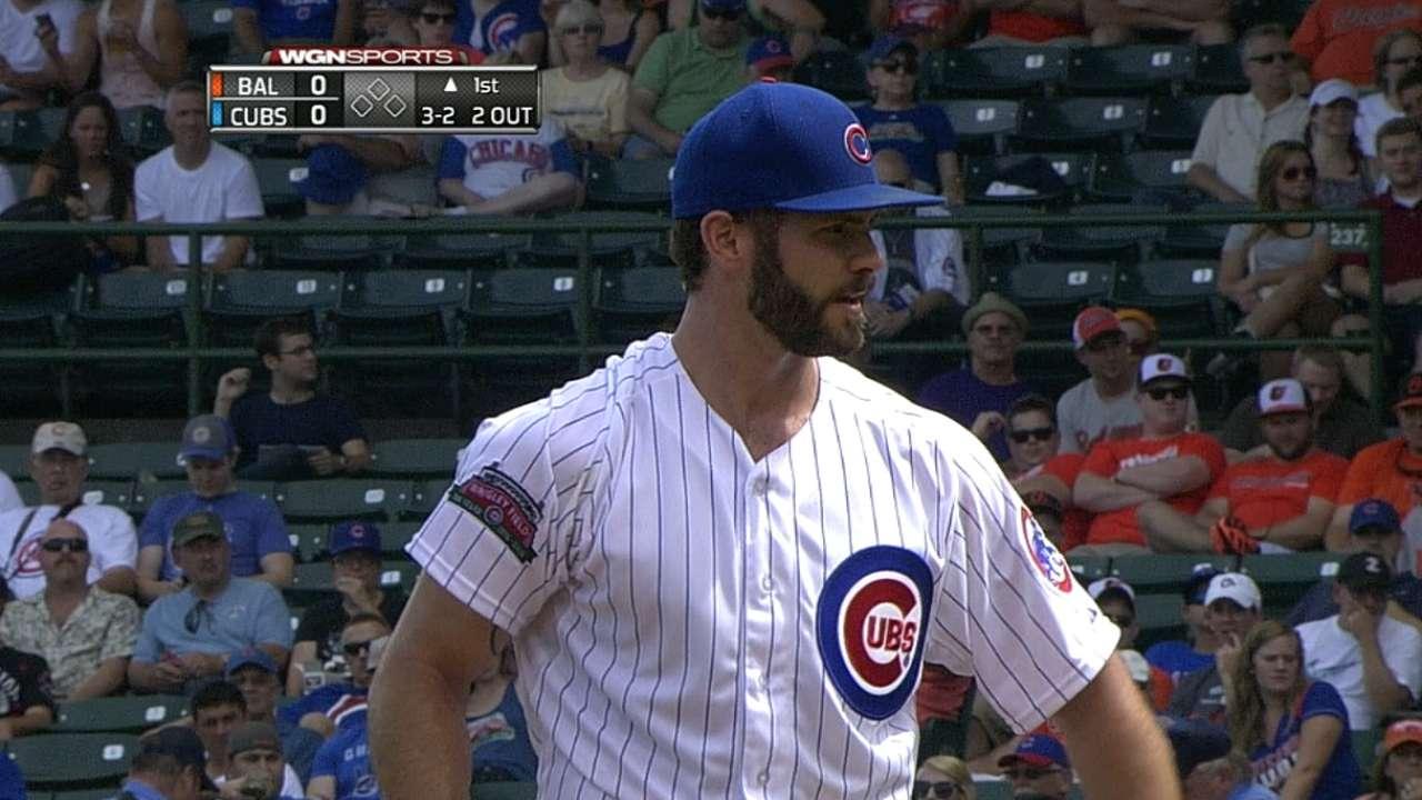 Cubs homer twice as Arrieta stifles former team