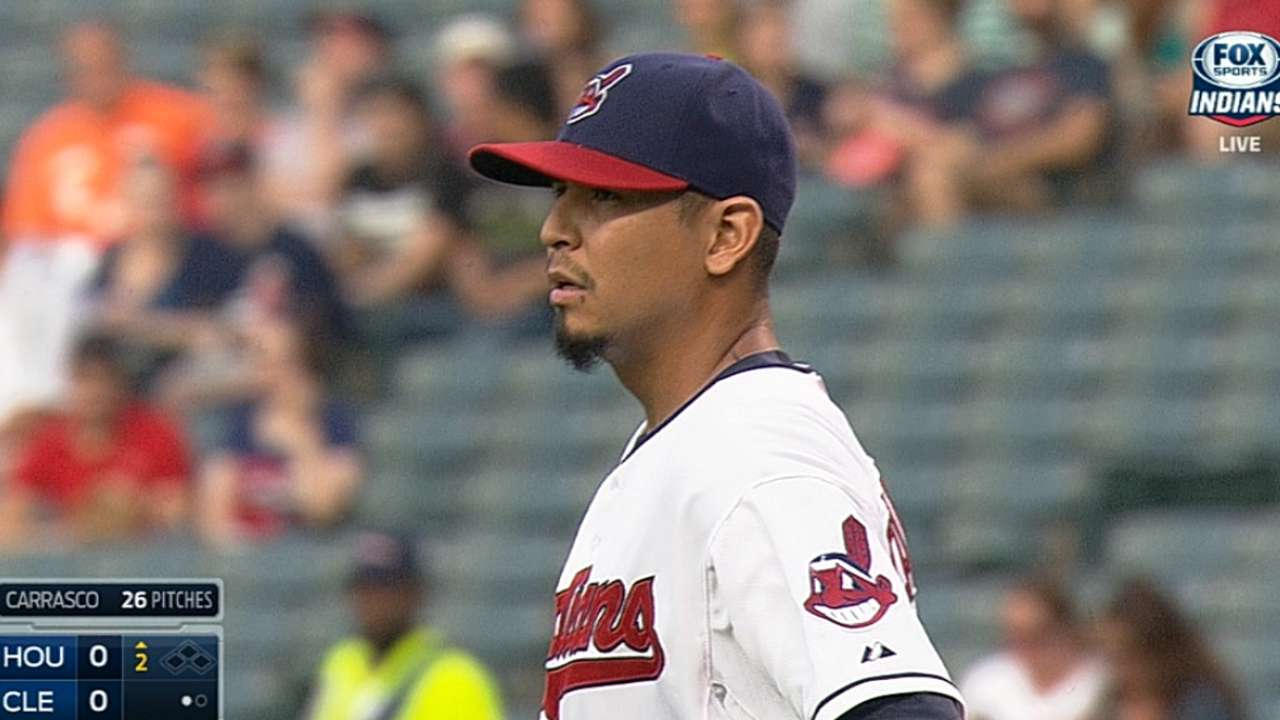 Carrasco strong, but late blunders cost Tribe
