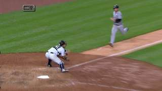 Replay confirms play at plate; Yanks nail runner
