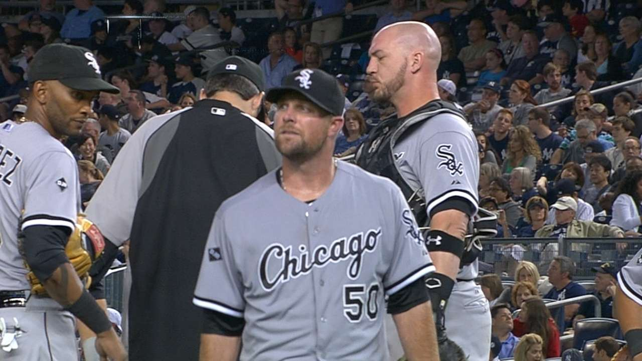 Danks hopes to go deep against Indians in finale