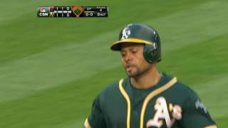 Coco proves to be driving force in A's offense