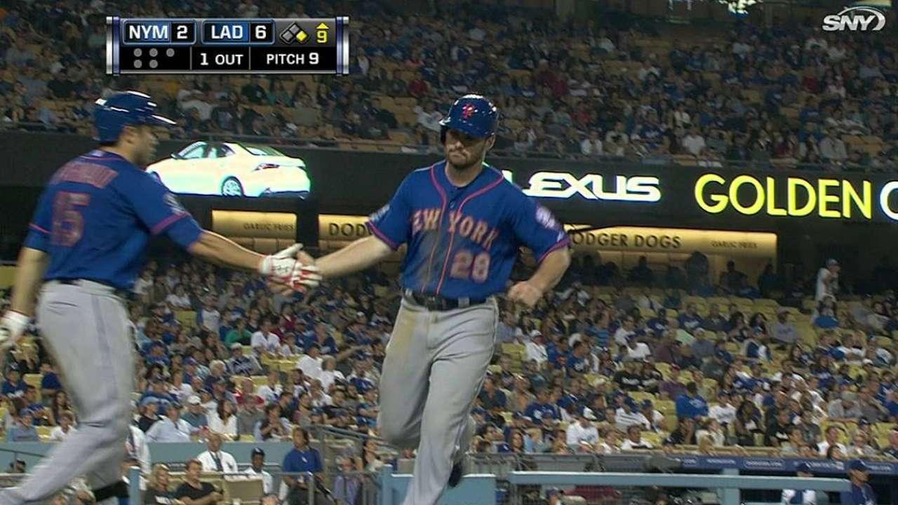 Ofensiva de Mets fue dominada por Haren, Dodgers