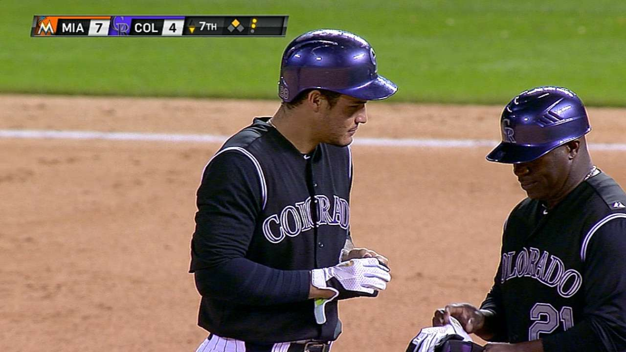 Arenado rewarded for big week with NL honor