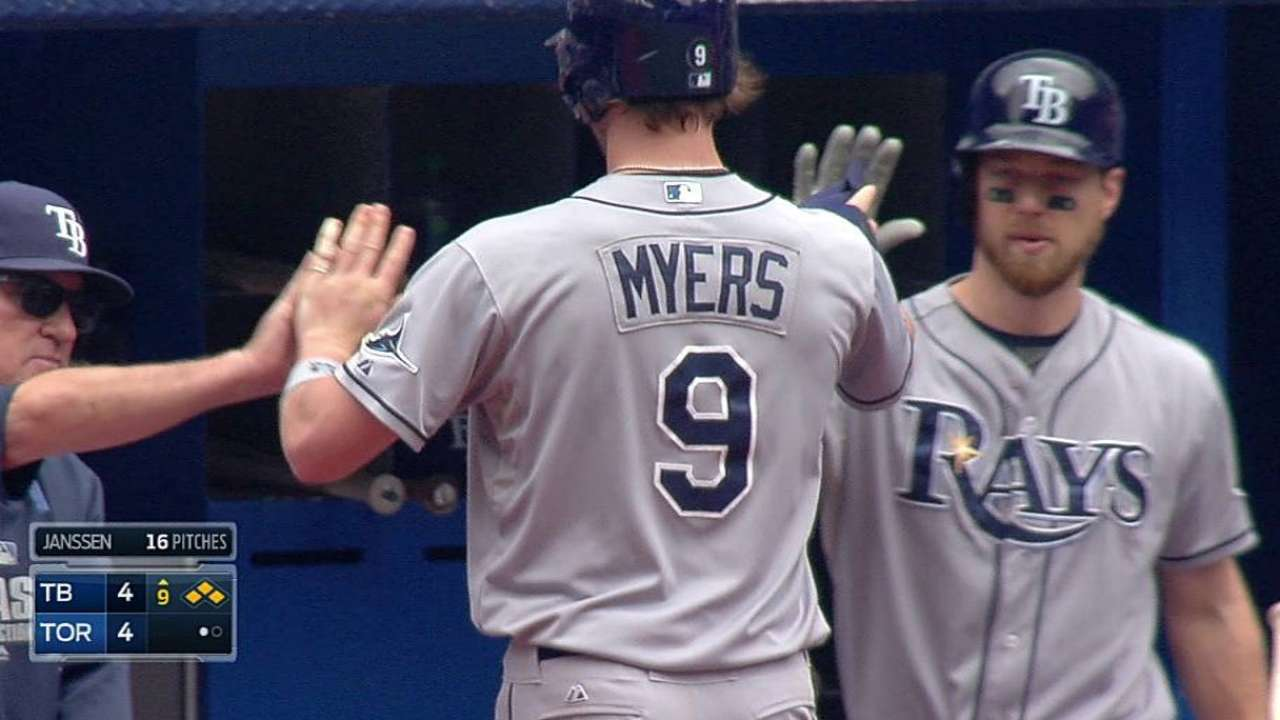 Rays drop protested walk-off contest to Jays