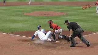 Pair of reviews favors O's in rainy tilt vs. Cubs