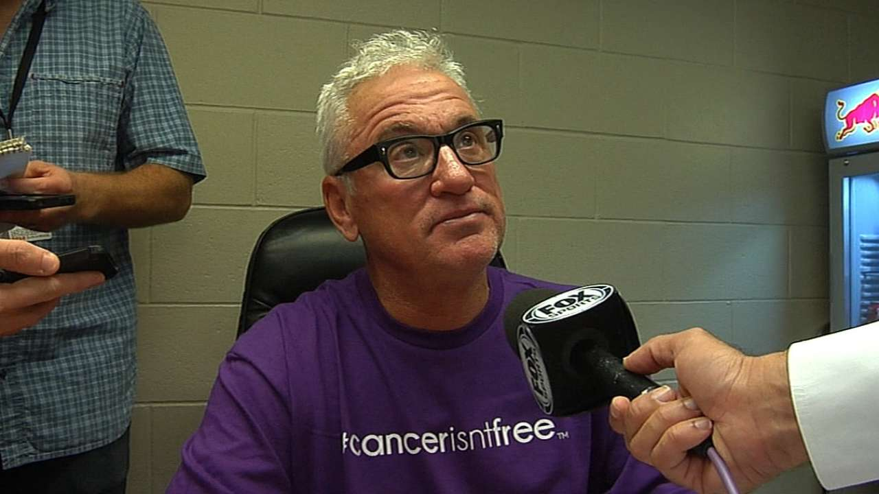 Maddon encouraged by conversation with Torre