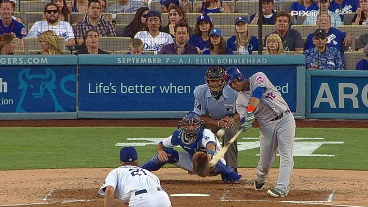 Lagares remolca 3 pero Mets caen con Dodgers