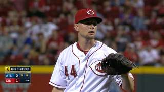 Reds end skid at seven behind strong Leake