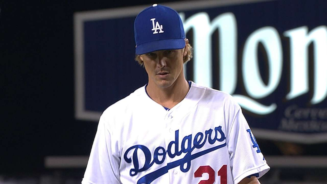 Greinke feeling good day after seven-inning start