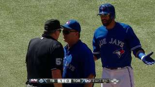 Bautista adamant he didn't deserve to be ejected