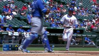 Baker gives Rangers a boost, bullpen finishes off win