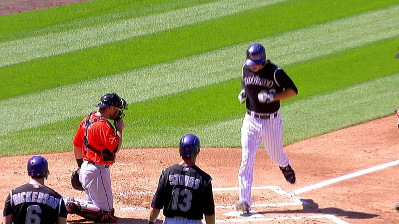 Arenado adds to Rockies' weekly awards haul