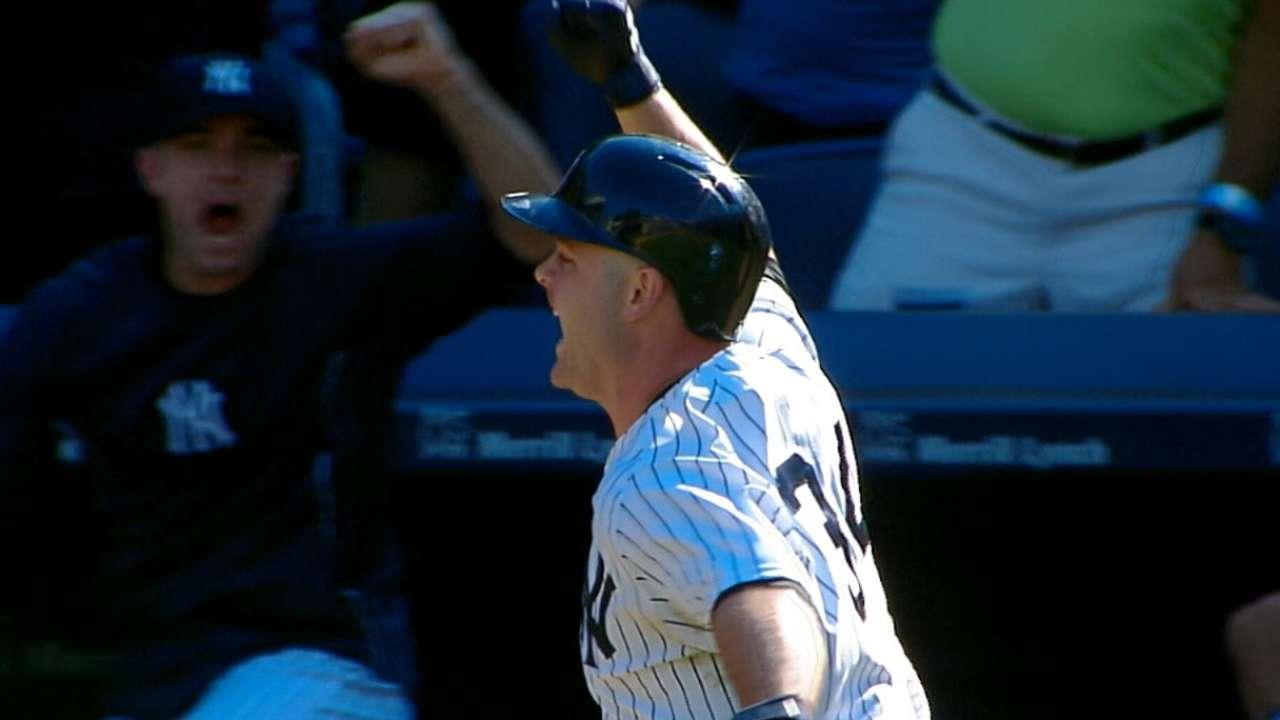 Yankees hunden a White Sox con HR en la 10ma