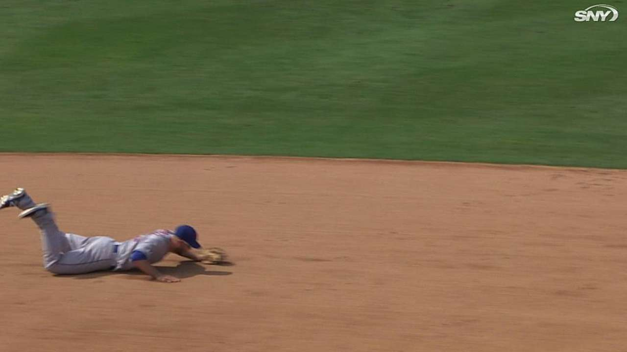 Campbell's diving play