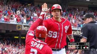 Nationals pile on runs in comeback victory