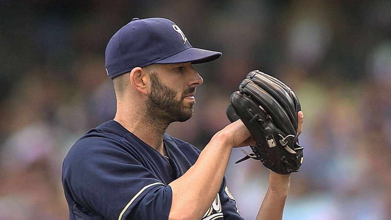 Fiers cools off Bucs as Crew extends NL Central lead