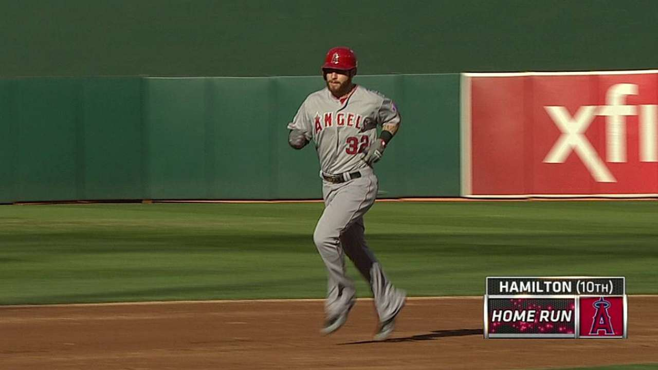 Hamilton returns early; Pujols in lineup at first