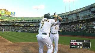 Kazmir's tough night sets tone as A's fall to Angels