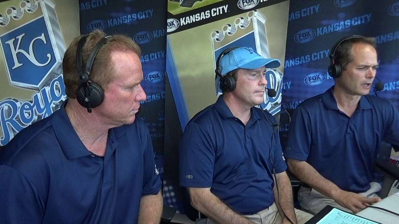 Royals great Montgomery returns to TV booth