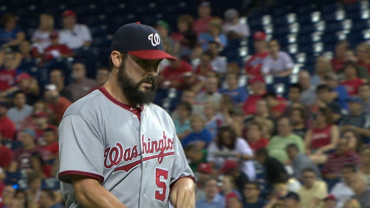 Nationals plan to let Roark keep pitching
