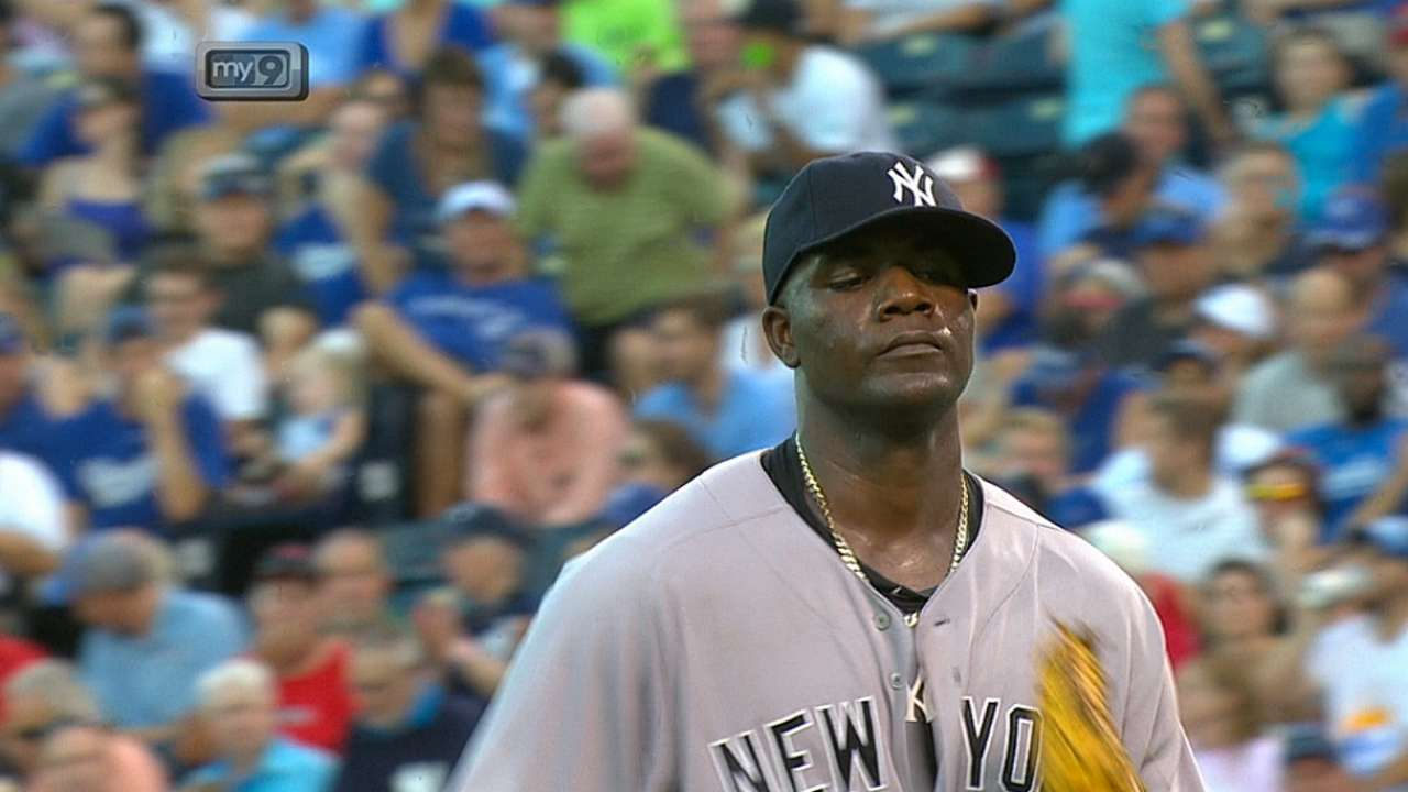 Yankees doblegaron a Reales detrás de Pineda